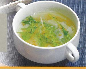 大根と白いきくらげスープ
